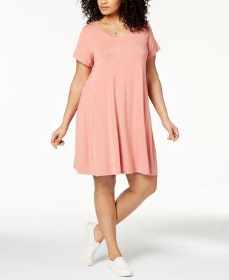 Trendy Plus Size Short Dresses