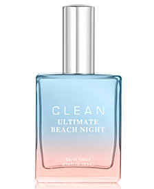CLEAN Fragrance Ultimate Beach Night Eau de Toilette, 2.14-oz.