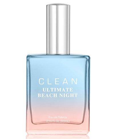 CLEAN Fragrance Ultimate Beach Night Eau de Toilette, 2.14-oz.