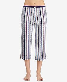 Layla Striped Capri Pajama Pants