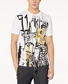 A|X Armani Exchange Men's Graffiti Graphic Print T-Shirt
