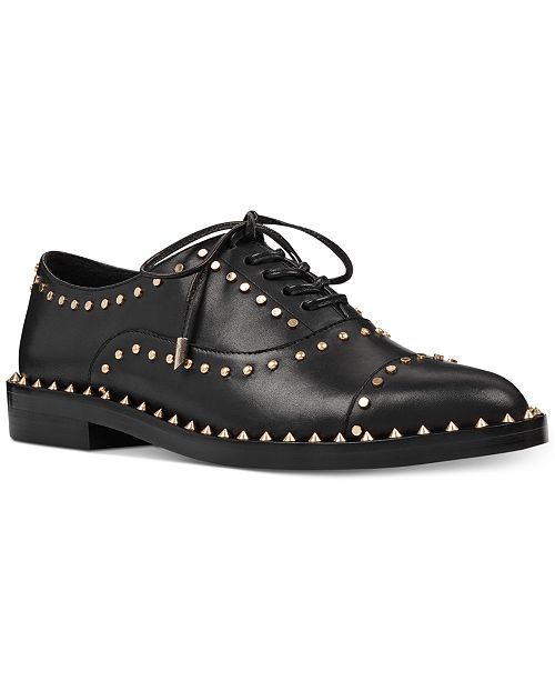 Nine West Garroy Lace-Up Oxfords Women's Shoes QEjd2F