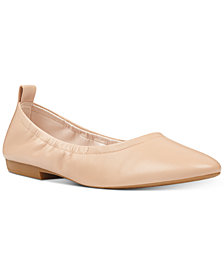 Nine West Greige Ballet Flats