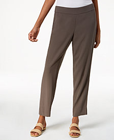 Eileen Fisher Silk Ankle Pants