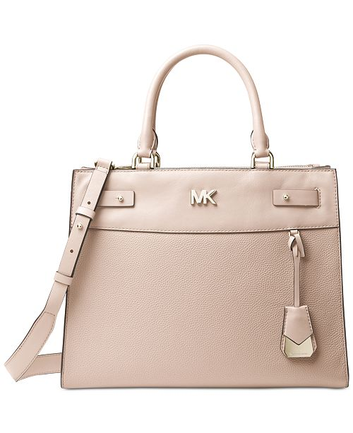 Michael Kors Reagan Large Satchel   Reviews - Handbags ... e79711761a25b