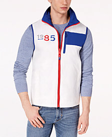 Tommy Hilfiger Men's Ashby Logo-Print  Vest, Created for Macy's