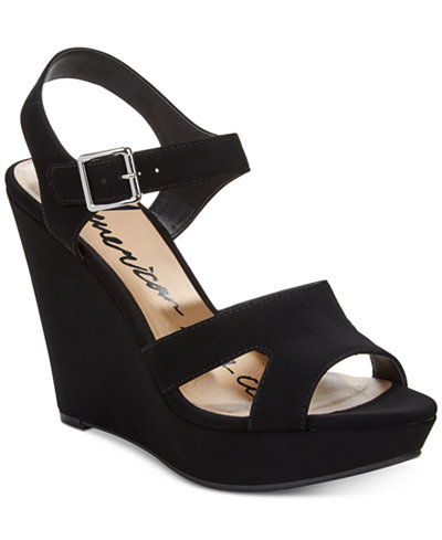 American Rag Rochelle Platform Wedge Sandals, Created for Macy's