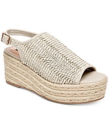 Courage Espadrille Wedge Sandals