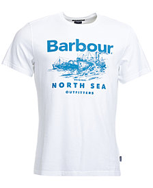 Barbour Men's Graphic-Print T-Shirt
