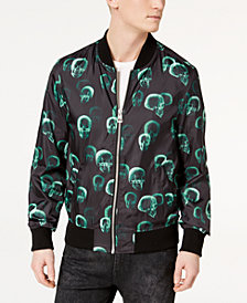 GUESS Men's Skull Bomber Jacket