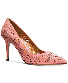 COACH Waverly Perforated Pumps