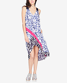 RACHEL Rachel Roy Mixed-Print High-Low Dress, Created for Macy's
