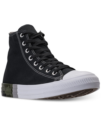 Converse Men's Chuck Taylor All Star High Top Camo Casual Sneakers from Finish Line