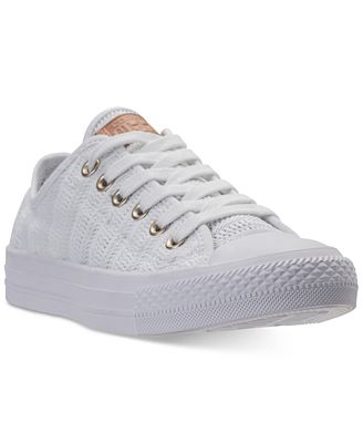 Converse Women's Chuck Taylor Ox Woven Casual Sneakers from Finish Line