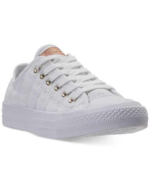 Converse Women's Chuck Taylor Ox Woven Casual Sneakers from Finish Line 6m6kcuVqjZ