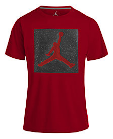 Jordan Jumpman-Print Cotton T-Shirt, Big Boys