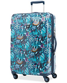 "Infinity Lite 3 Lotus Temple 25"" Hardside Spinner Suitcase, Created for Macy's"