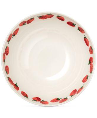 Serving Bowl, Strawberries