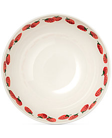 kate spade new york Serving Bowl, Strawberries