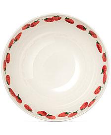 kate spade new york Serving Bowl, Strawberries