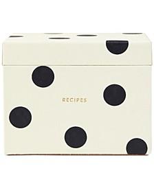 Recipe Box, Deco Dot