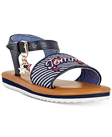 Tommy Hilfiger Jenna Signature Sandals, Little Girls & Big Girls