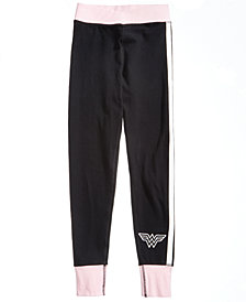 DC Comics Wonder Woman Jogger Pants, Big Girls
