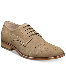 Stacy Adams Men's Deacon Suede Cap Toe Oxfords