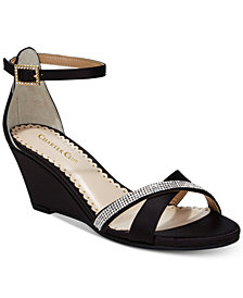 Charter Club Mcalister Wedge Evening Sandals, Created For Macy's