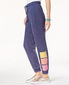 Hippie Rose Juniors' Colorblocked Jogger Pants