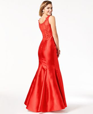Say Yes To The Prom Juniors Embellished Mermaid Gown Created For