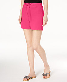 I.N.C. Drawstring-Waist Shorts, Created for Macy's