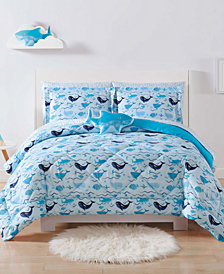 Laura Hart Kids Deep Blue Sea Full/Queen 3-Pc. Comforter Set