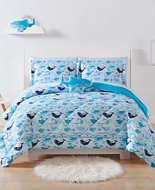 My World Deep Blue Sea Full/Queen 3-Pc. Comforter Set