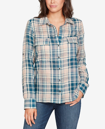 WILLIAM RAST Cotton Plaid Shirt