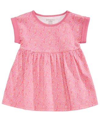Printed Cotton Tunic, Baby Girls, Created for Macy's
