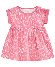 First Impressions Printed Cotton Tunic, Baby Girls, Created for Macy's