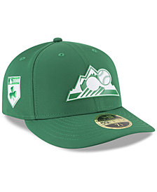 New Era Colorado Rockies St. Patty's Day Pro Light Low Crown 59Fifty Fitted Cap