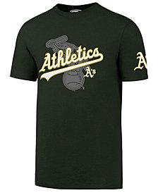 '47 Brand Men's Oakland Athletics On-Deck Rival T-Shirt