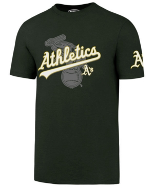 '47 Brand Men's Oakland Athletics On-Deck Rival T-Shirt