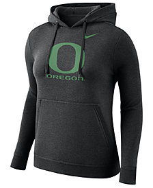 Nike Women's Oregon Ducks Club Hooded Sweatshirt