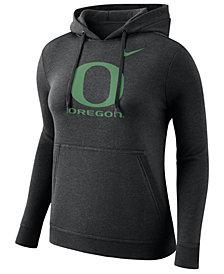 Nike Women's Oregon Ducks Club Hooded Sweatshirt