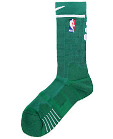Nike Men's Boston Celtics Elite Quick Crew Socks