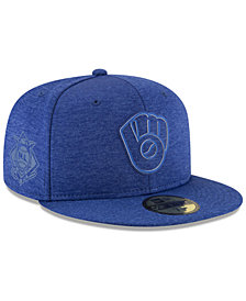 New Era Milwaukee Brewers Clubhouse 59Fifty Fitted Cap