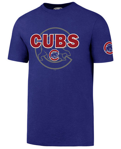 '47 Brand Men's Chicago Cubs On-Deck Rival T-Shirt