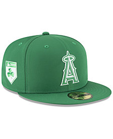 New Era Los Angeles Angels St. Patty's Day Pro Light 59Fifty Fitted Cap