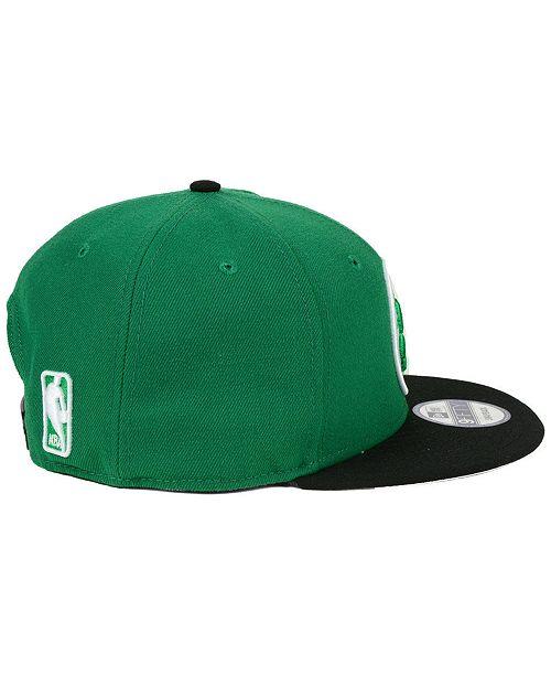 New Era Boston Celtics 2Tone 9FIFTY Snapback Cap - Sports Fan Shop ... 152adec202d6