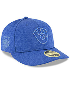 New Era Milwaukee Brewers Clubhouse Low Crown 59Fifty Fitted Cap