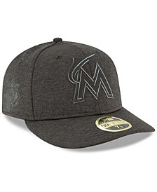 New Era Miami Marlins Clubhouse Low Crown 59Fifty Fitted Cap