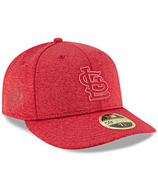 New Era St. Louis Cardinals Clubhouse Low Crown 59Fifty Fitted Cap